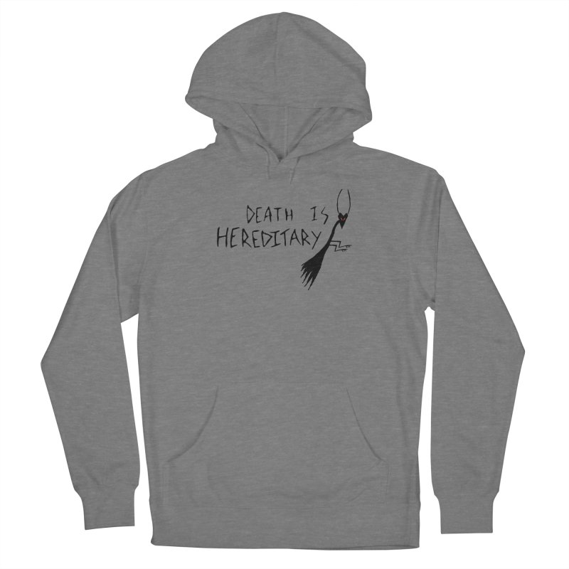 Death is Hereditary Women's Pullover Hoody by The Little Fears