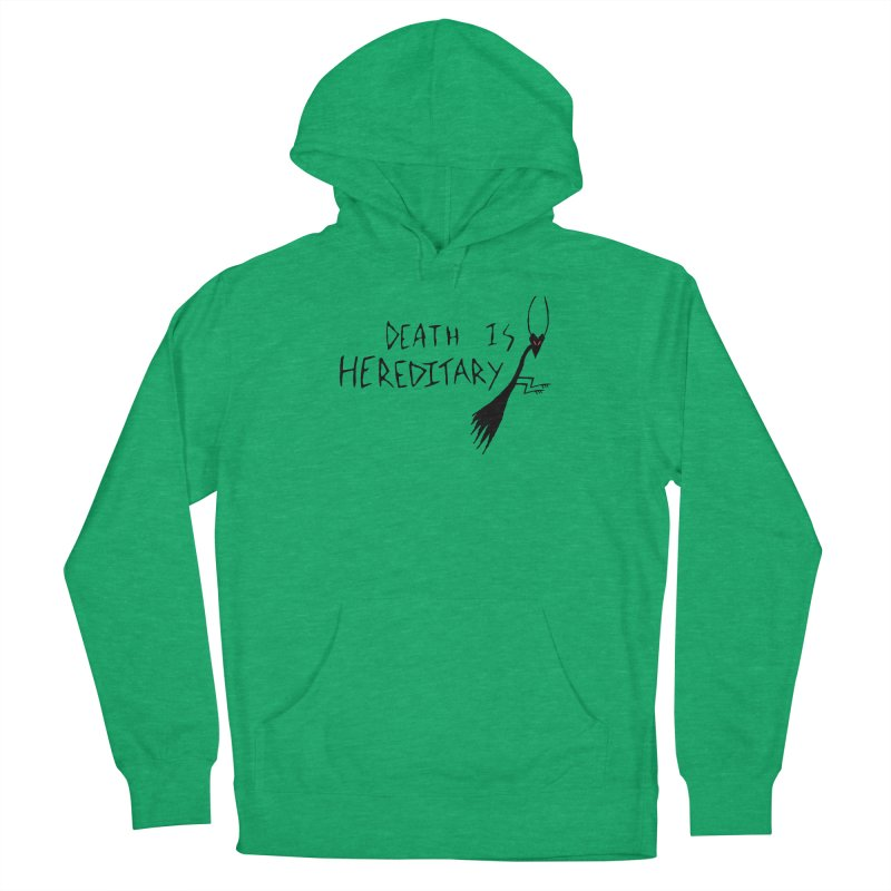 Death is Hereditary Men's French Terry Pullover Hoody by The Little Fears