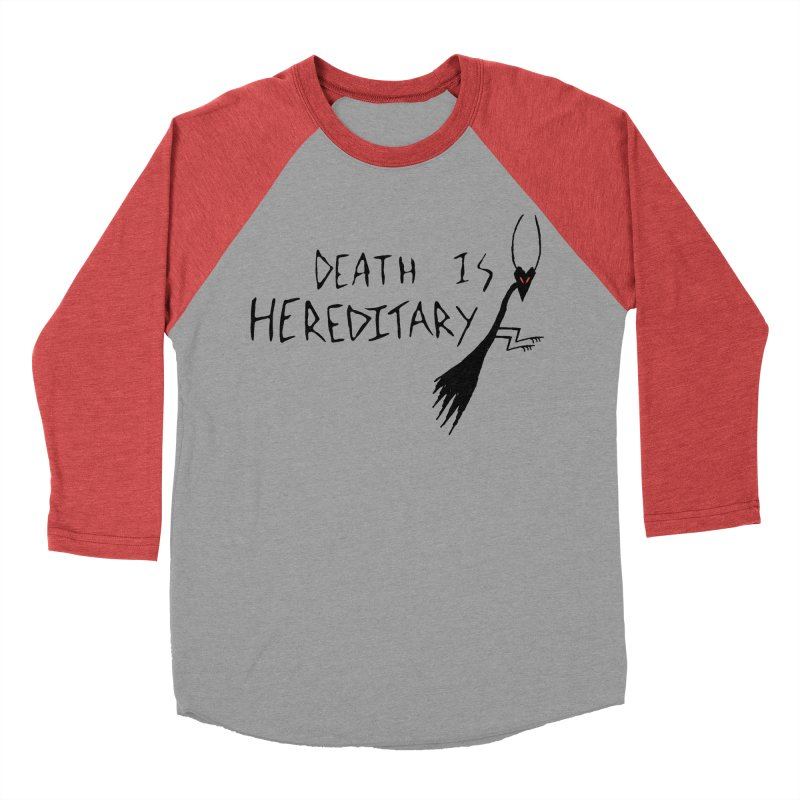 Death is Hereditary Men's Baseball Triblend Longsleeve T-Shirt by The Little Fears