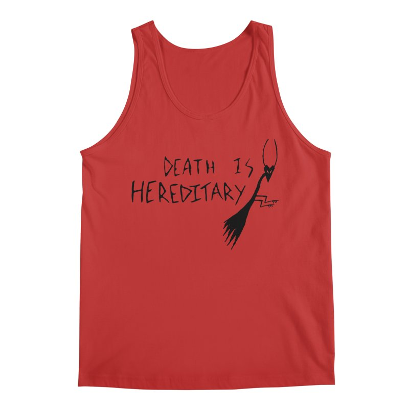 Death is Hereditary Men's Regular Tank by The Little Fears