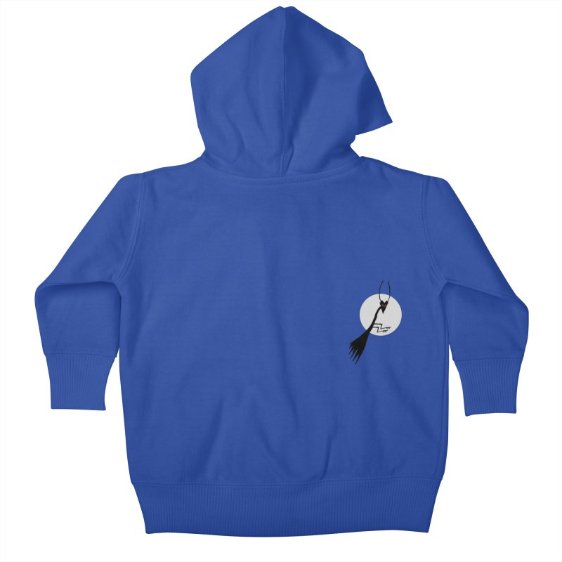 Virgo in the pocket Kids Baby Zip-Up Hoody by The Little Fears