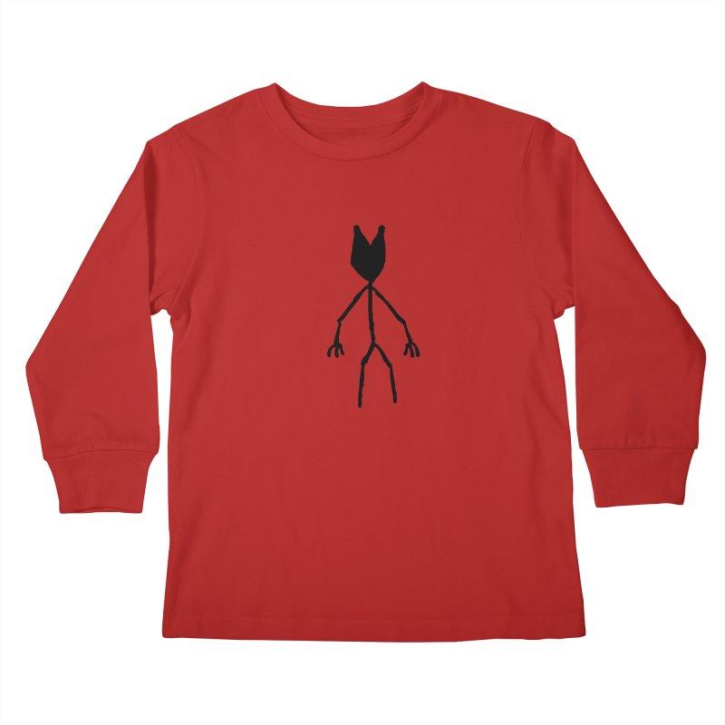 Spectre Kids Longsleeve T-Shirt by The Little Fears