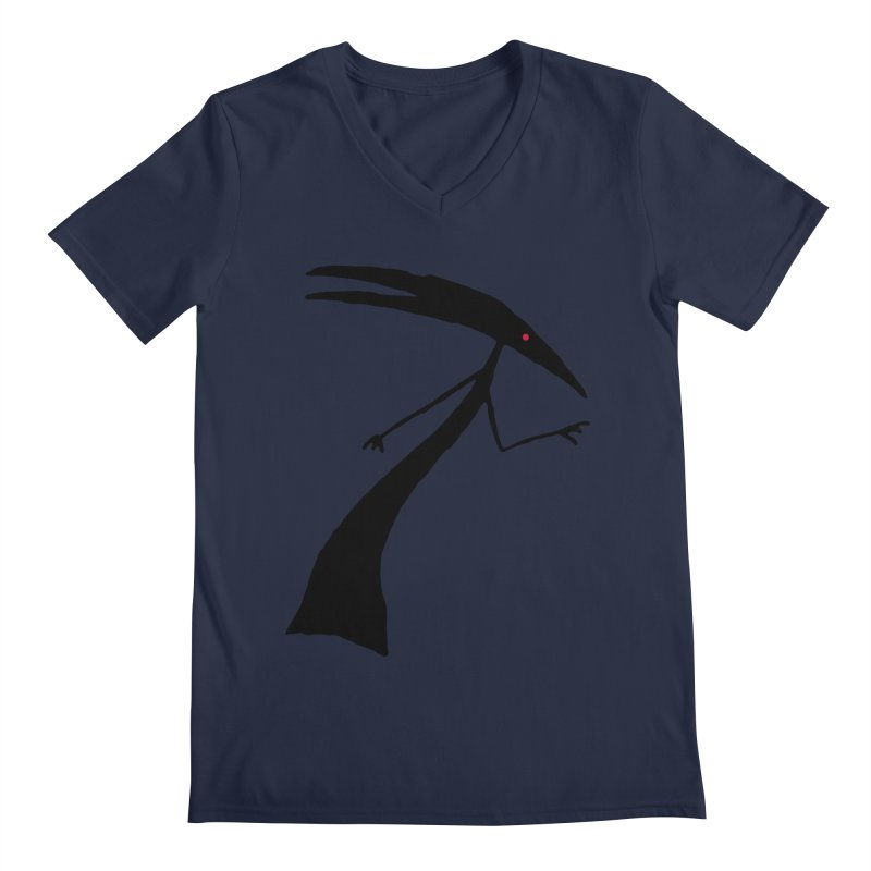 Capricorn Men's V-Neck by The Little Fears