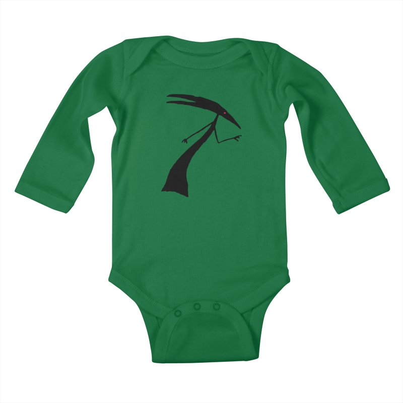 Capricorn Kids Baby Longsleeve Bodysuit by The Little Fears