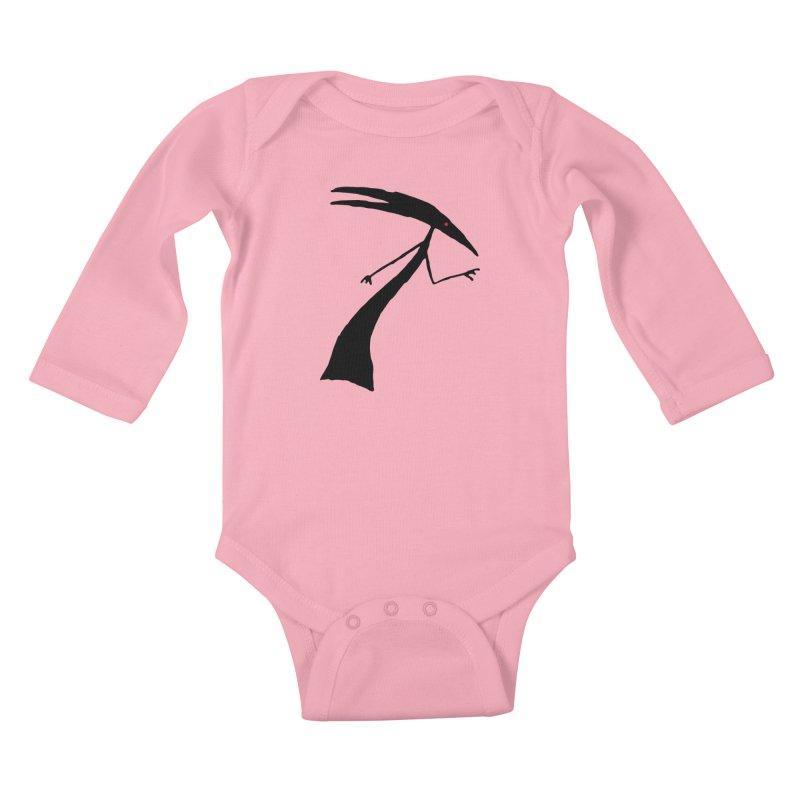 Capricorn Kids Baby Longsleeve Bodysuit by The Little Fears
