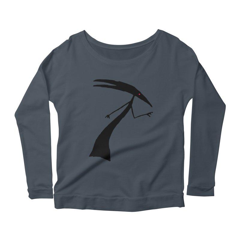 Capricorn Women's Scoop Neck Longsleeve T-Shirt by The Little Fears