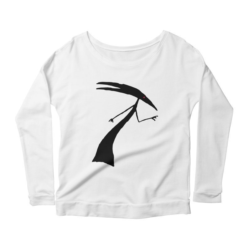Capricorn Women's Longsleeve Scoopneck  by The Little Fears
