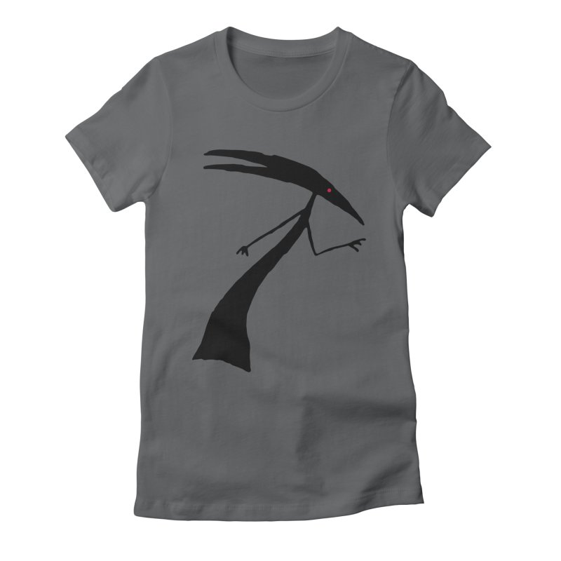Capricorn Women's Fitted T-Shirt by The Little Fears