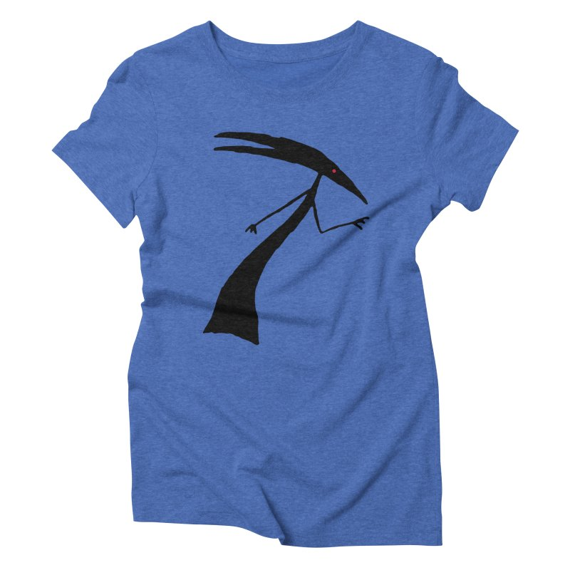 Capricorn Women's Triblend T-shirt by The Little Fears