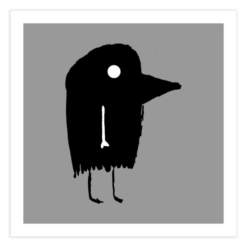 Fuen - Bird Spirit Home Fine Art Print by The Little Fears
