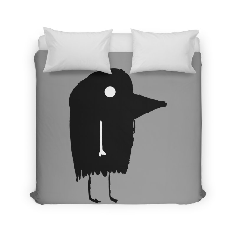 Fuen - Bird Spirit Home Duvet by The Little Fears