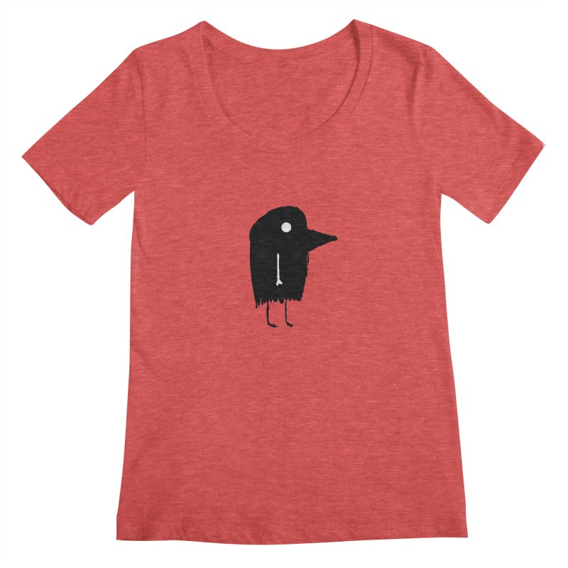 Fuen - Bird Spirit Women's Scoopneck by The Little Fears