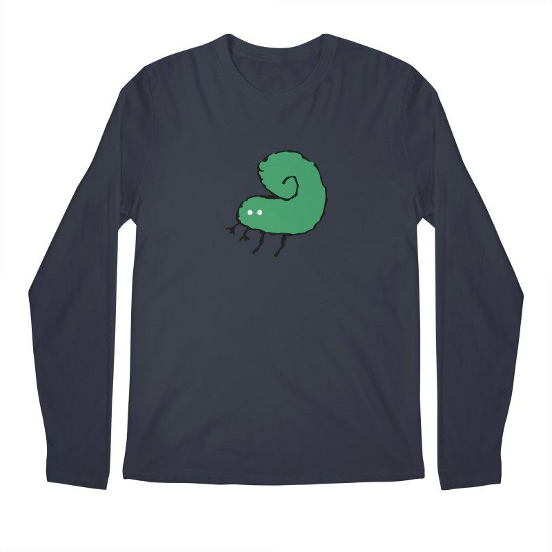 Green Bugly Men's Longsleeve T-Shirt by The Little Fears