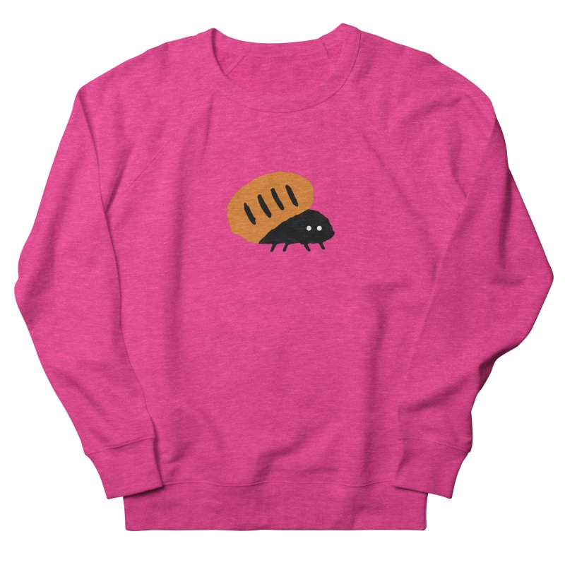 Orange Bug Men's Sweatshirt by The Little Fears
