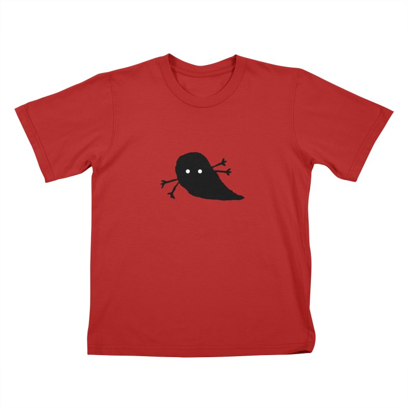 Nut Bugly Kids T-shirt by The Little Fears