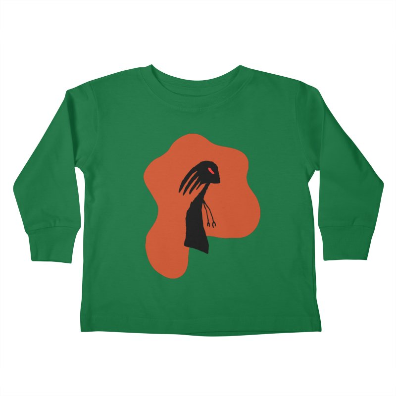 Rust Kids Toddler Longsleeve T-Shirt by The Little Fears