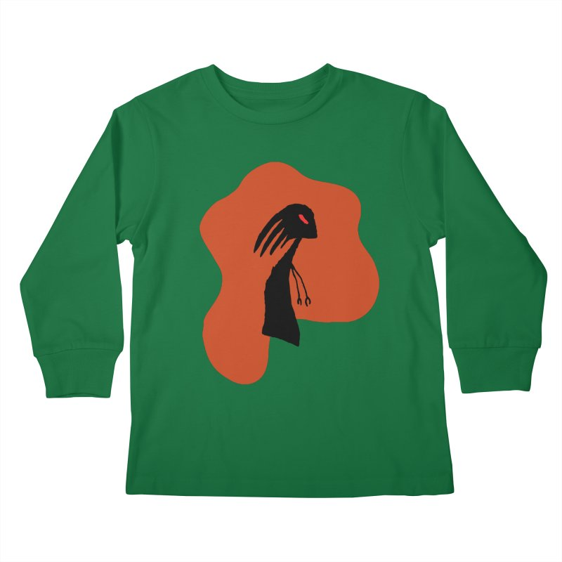 Rust Kids Longsleeve T-Shirt by The Little Fears