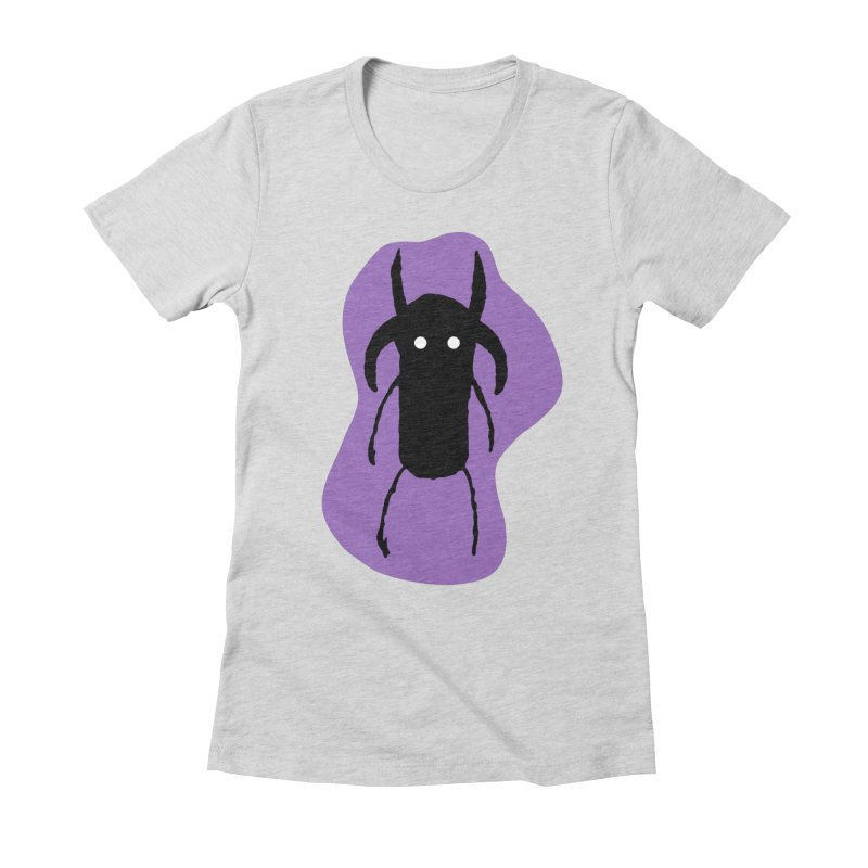 Dami Women's Fitted T-Shirt by The Little Fears