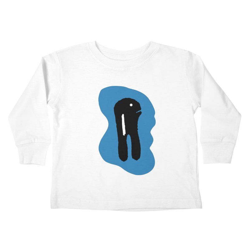 Salmon Kids Toddler Longsleeve T-Shirt by The Little Fears