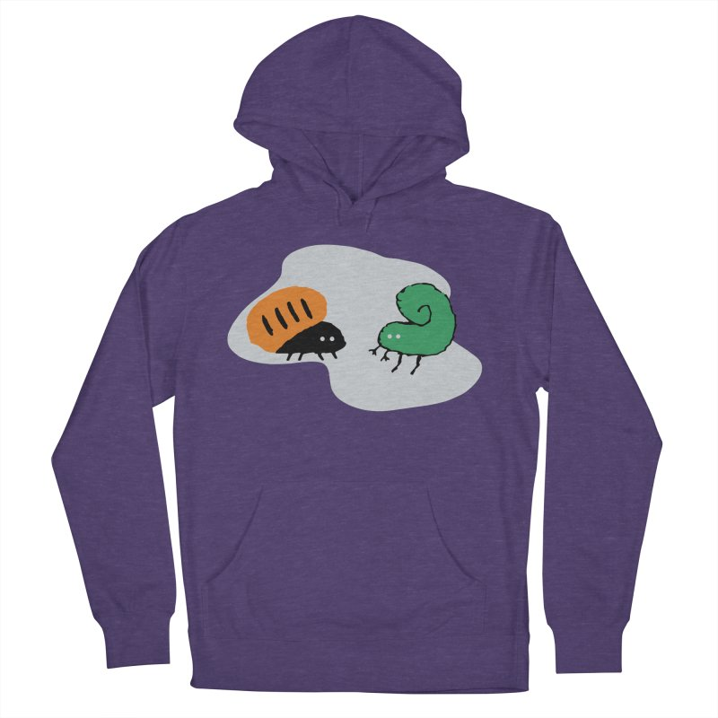 Bugged in Women's Pullover Hoody Heather Purple by The Little Fears