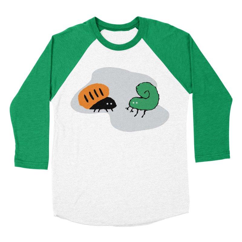 Bugged Men's Baseball Triblend T-Shirt by The Little Fears