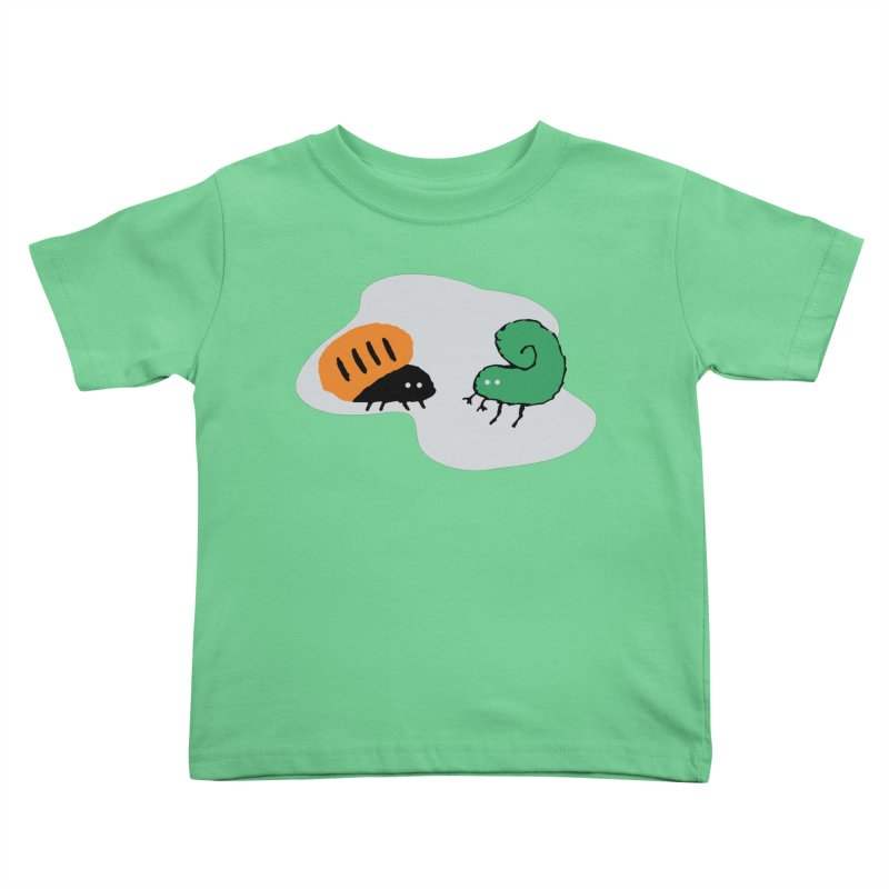 Bugged Kids Toddler T-Shirt by The Little Fears