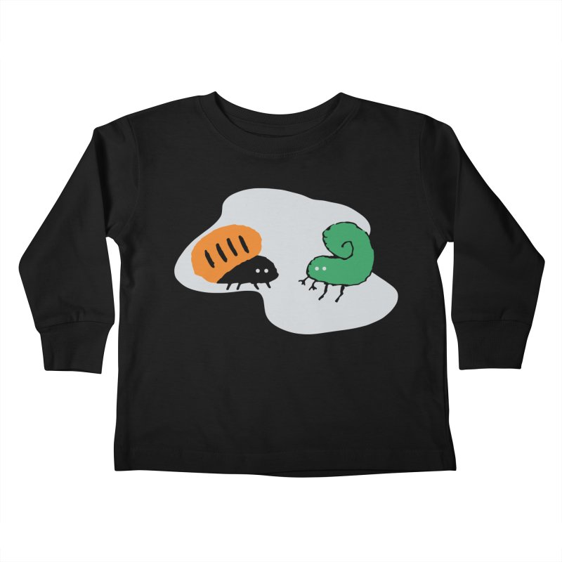 Bugged Kids Toddler Longsleeve T-Shirt by The Little Fears
