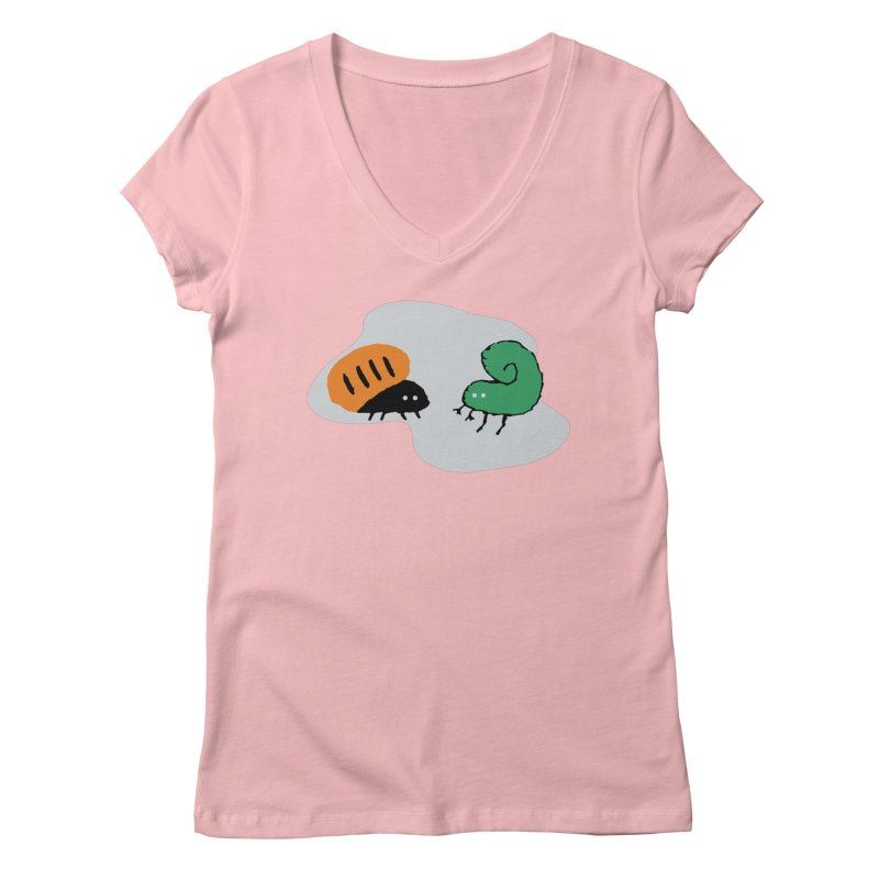 Bugged Women's V-Neck by The Little Fears