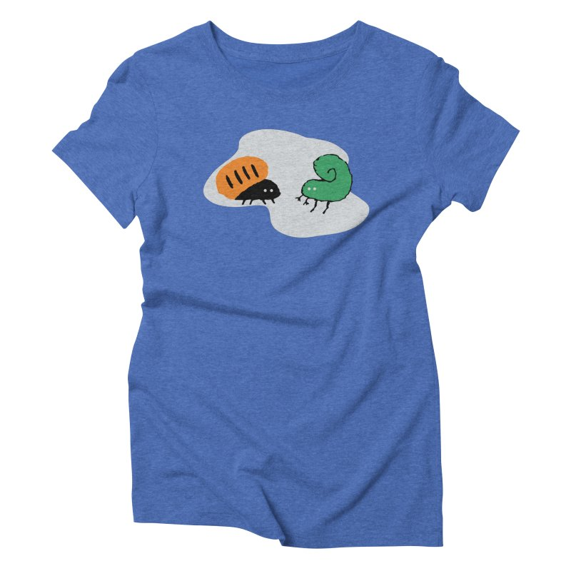 Bugged Women's Triblend T-shirt by The Little Fears