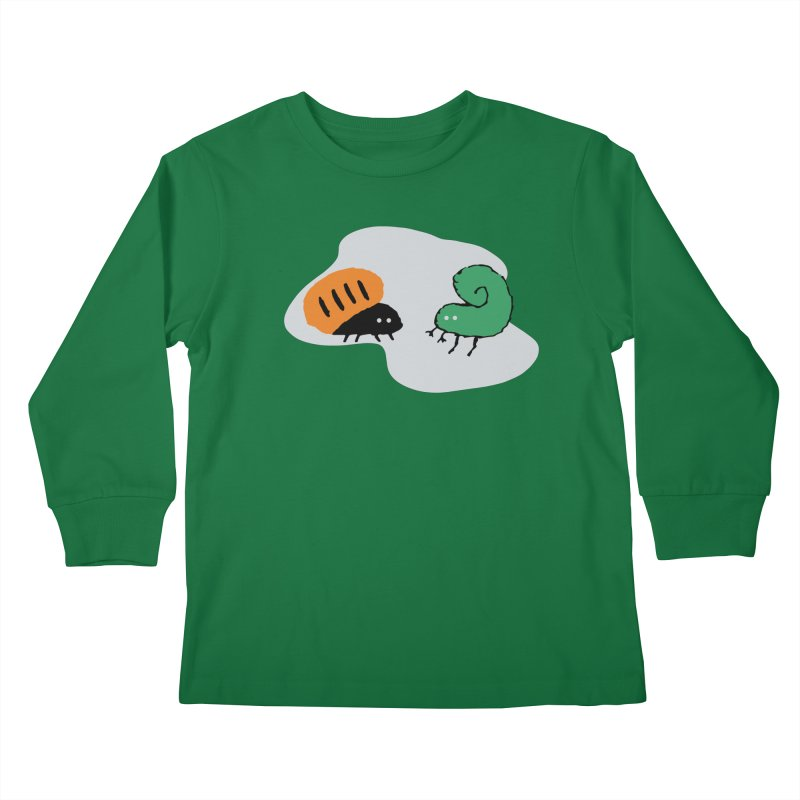 Bugged Kids Longsleeve T-Shirt by The Little Fears