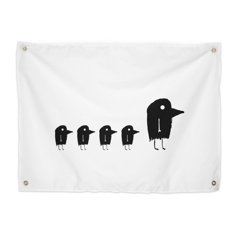 Bird Walk Home Tapestry by The Little Fears