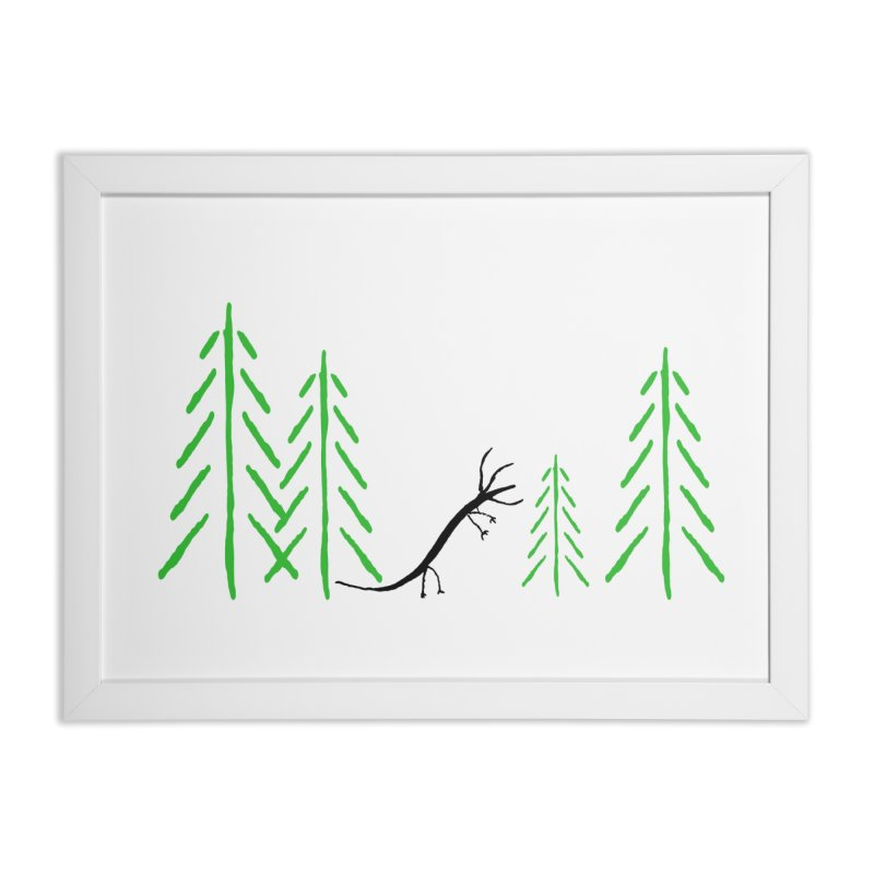 Hydras Forest Home Framed Fine Art Print by The Little Fears