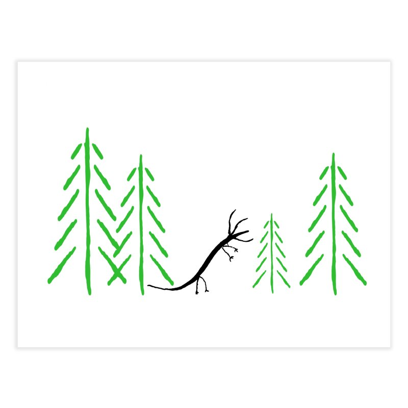Hydras Forest Home Fine Art Print by The Little Fears