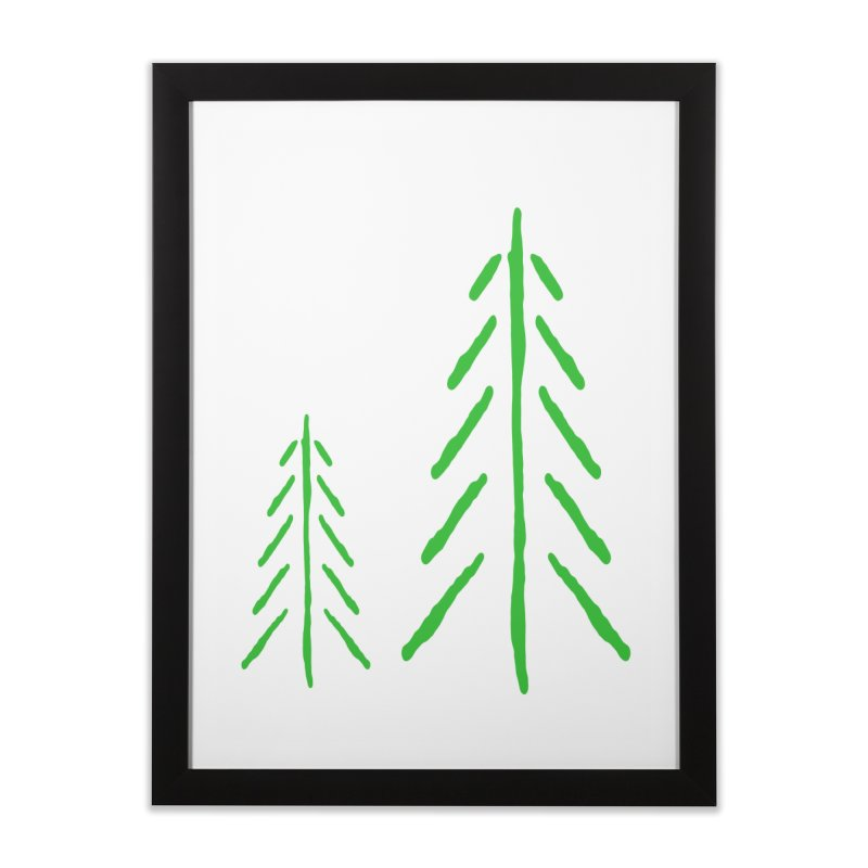 Spirit Wood Home Framed Fine Art Print by The Little Fears