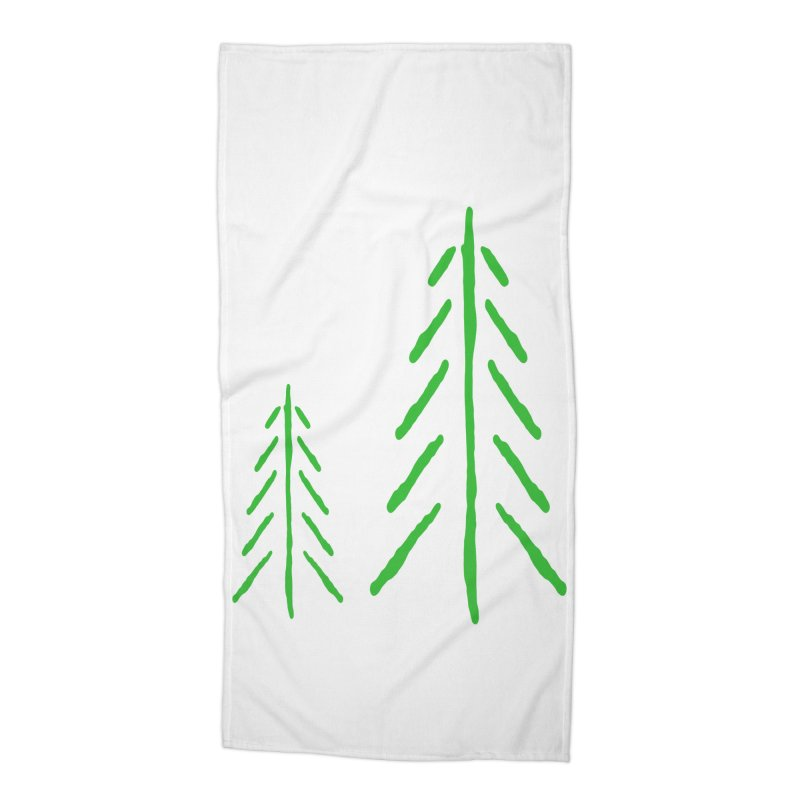 Spirit Wood Accessories Beach Towel by The Little Fears