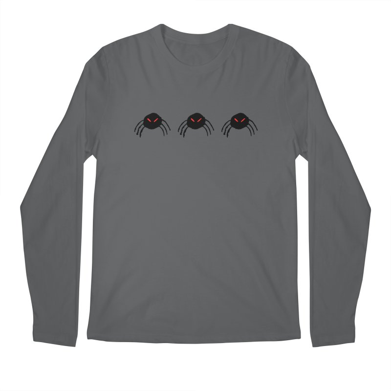Spiders! Men's Longsleeve T-Shirt by The Little Fears