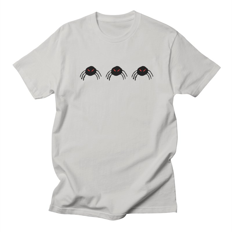 Spiders! Men's T-Shirt by The Little Fears