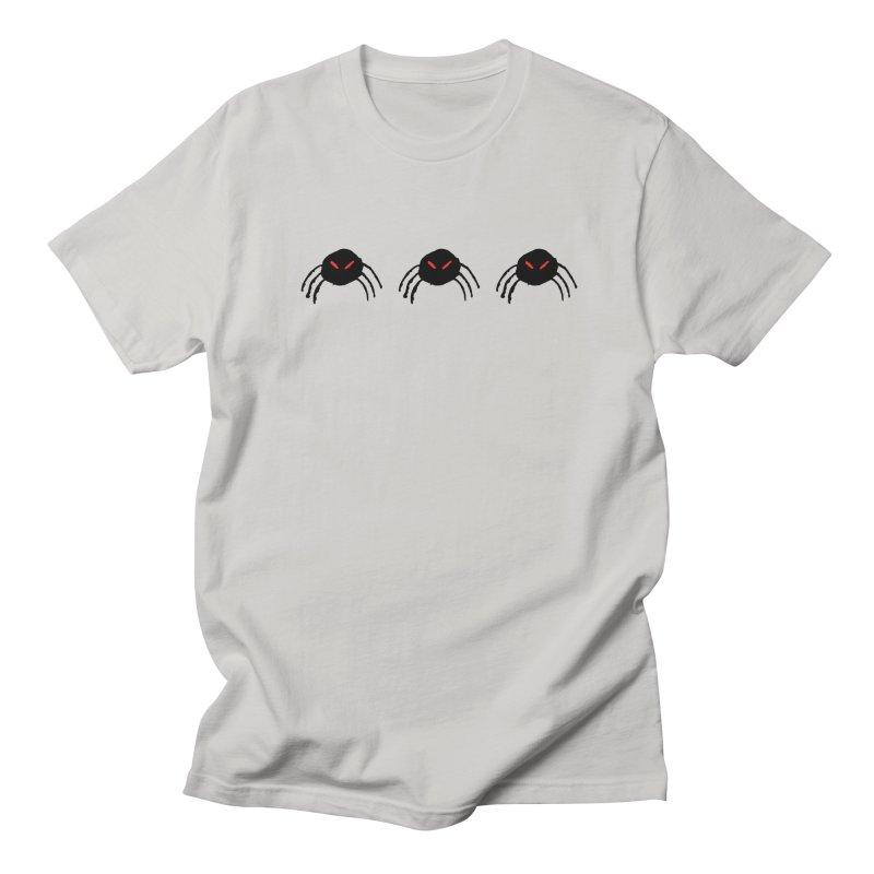 Spiders! Women's Regular Unisex T-Shirt by The Little Fears