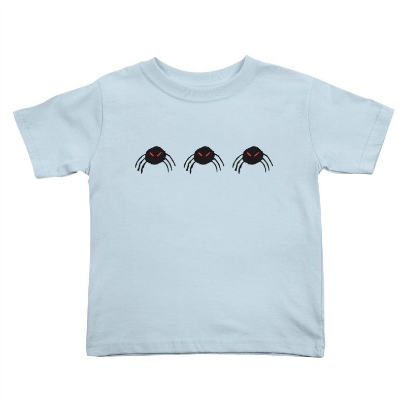 Spiders! Kids Toddler T-Shirt by The Little Fears