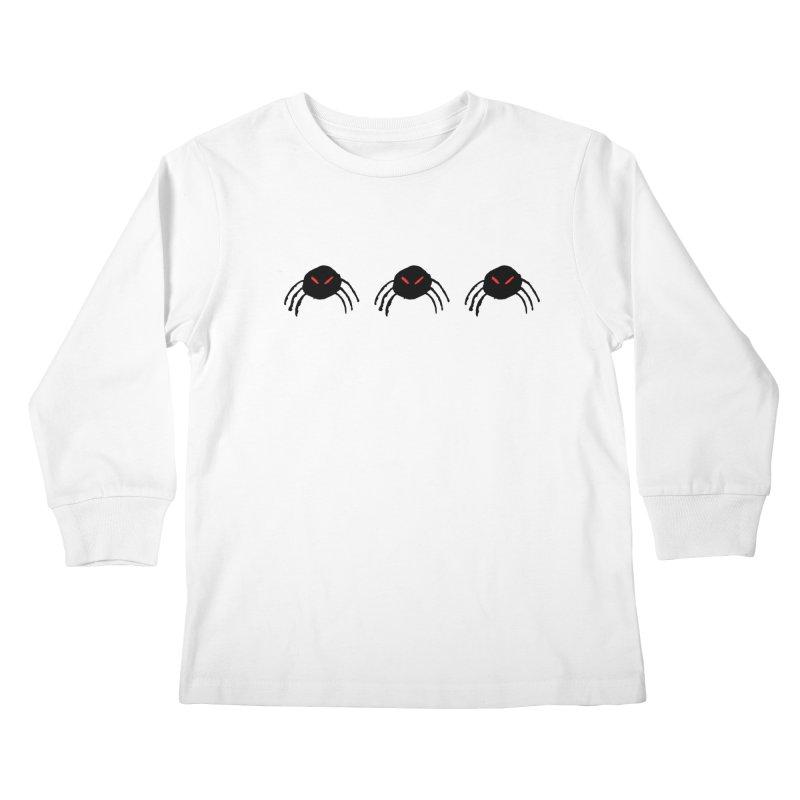 Spiders! Kids Longsleeve T-Shirt by The Little Fears