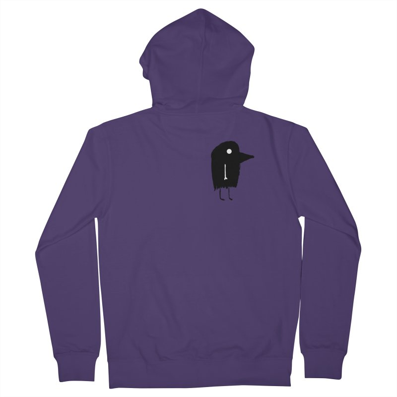 Pocket Fuen Women's French Terry Zip-Up Hoody by The Little Fears