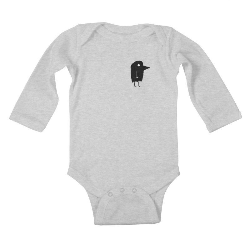Pocket Fuen Kids Baby Longsleeve Bodysuit by The Little Fears