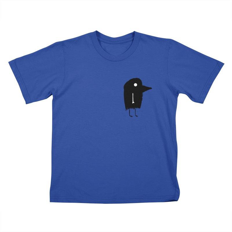 Pocket Fuen Kids T-Shirt by The Little Fears