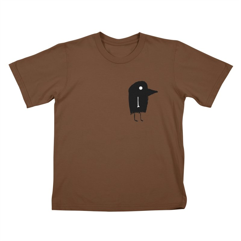 Pocket Fuen Kids T-shirt by The Little Fears
