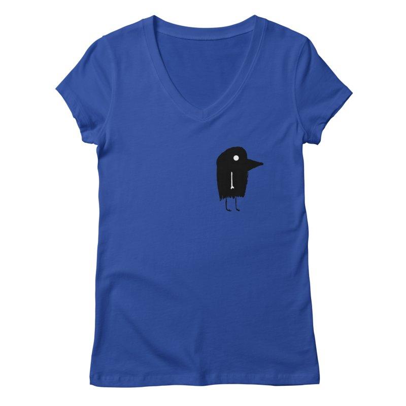 Pocket Fuen Women's V-Neck by The Little Fears