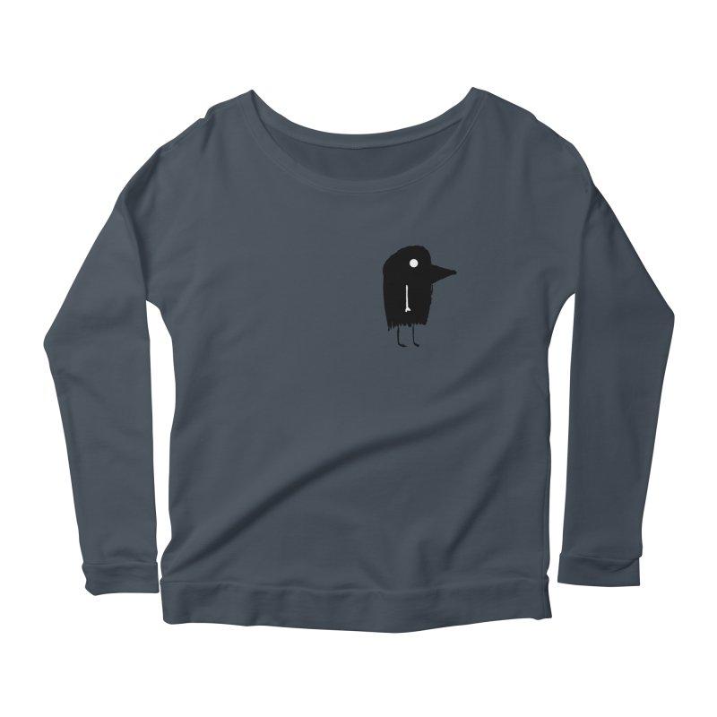 Pocket Fuen Women's Scoop Neck Longsleeve T-Shirt by The Little Fears