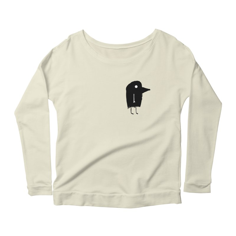 Pocket Fuen Women's Longsleeve Scoopneck  by The Little Fears