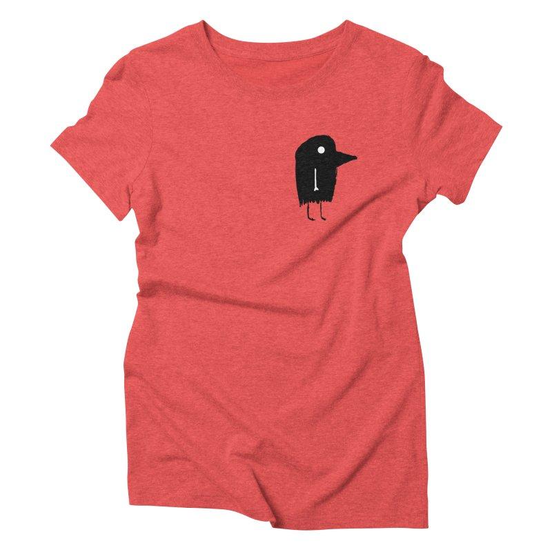 Pocket Fuen Women's Triblend T-Shirt by The Little Fears