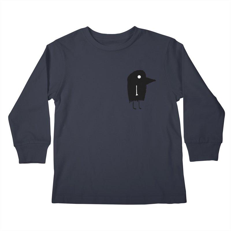 Pocket Fuen Kids Longsleeve T-Shirt by The Little Fears