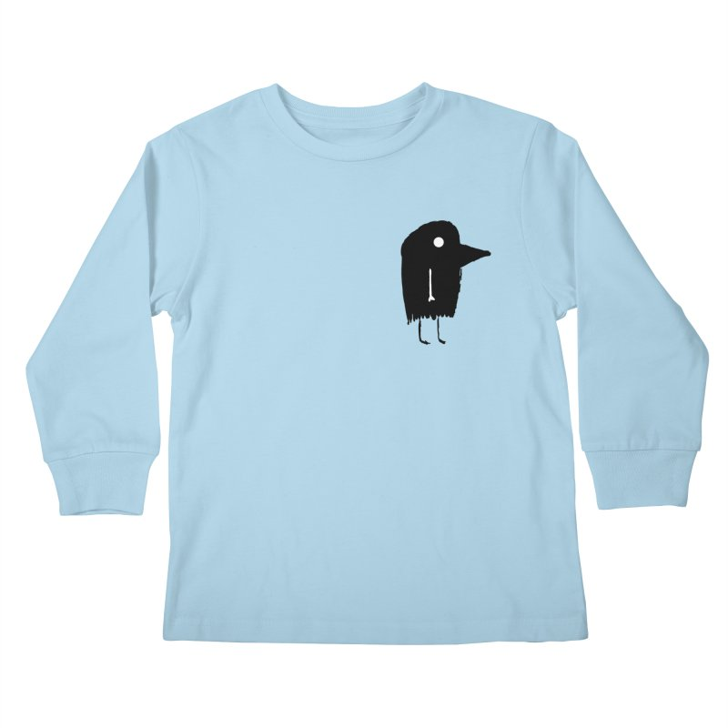 Pocket Fuen Kids Longsleeve T-Shirt by The Little Fears